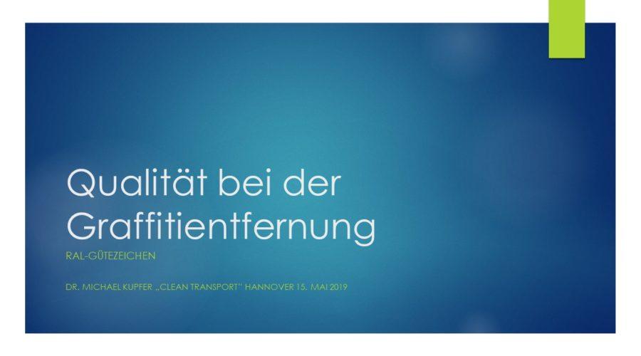 Clean Transport Hannover 2019